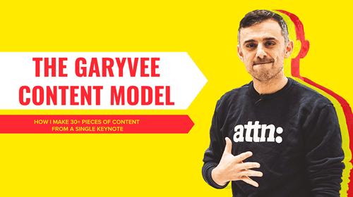 GaryVee's Content Model
