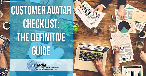 Customer Avatar Checklist Banner