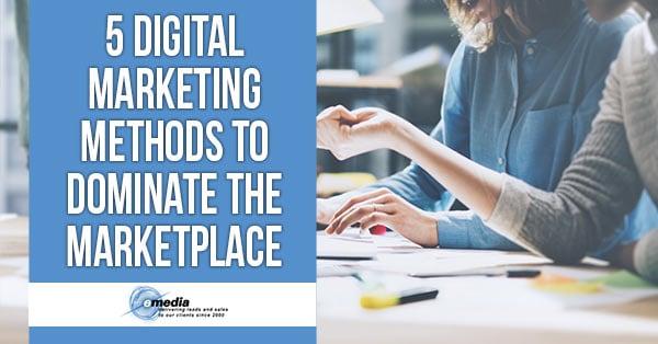 Digital Marketing Methods Banner